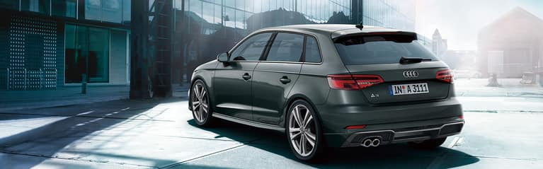 Audi A3 Sportback S line package