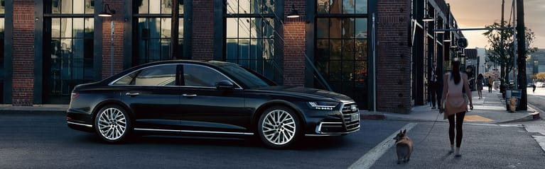 The new Audi A8