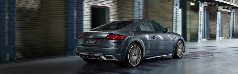 Audi TT Coupé S line package