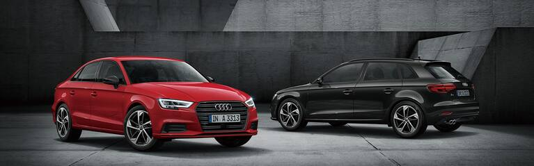 Audi A3 black styling